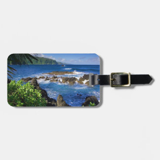 Hawaii Beach Scenery Luggage Tag
