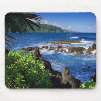 Hawaii Beach Scenery Mouse Pad