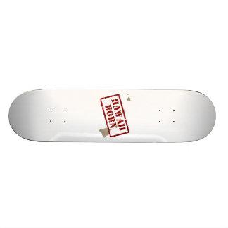 Hawaii Born - Stamp on Map Skate Board Decks