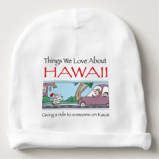 Hawaii by Harrop-T-a Baby Beanie