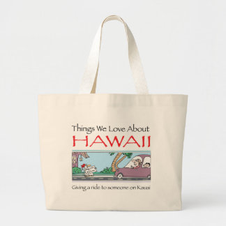 Hawaii by Harrop-T-a Large Tote Bag