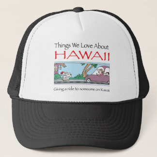 Hawaii by Harrop-T-a Trucker Hat