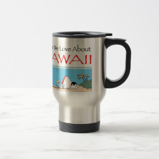 Hawaii by Harrop-T-b Travel Mug
