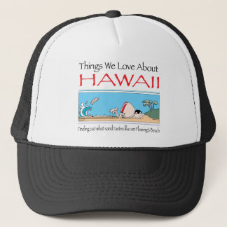 Hawaii by Harrop-T-b Trucker Hat