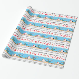 Hawaii by Harrop-T-b Wrapping Paper