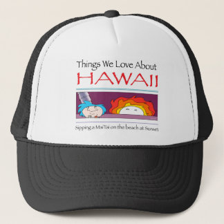 Hawaii by Harrop-T-c Trucker Hat