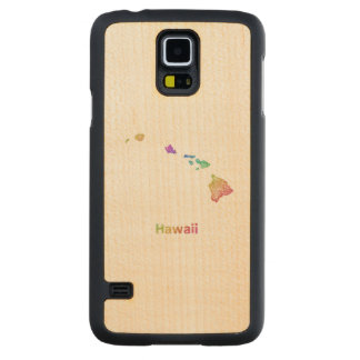 Hawaii Carved Maple Galaxy S5 Case