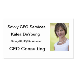Hawaii CFO Consulting Pack Of Standard Business Cards