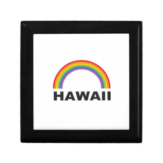 hawaii color arch gift box