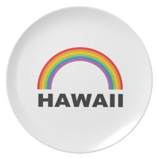 hawaii color arch plate