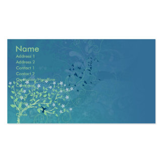 Hawaii dazzles business card template