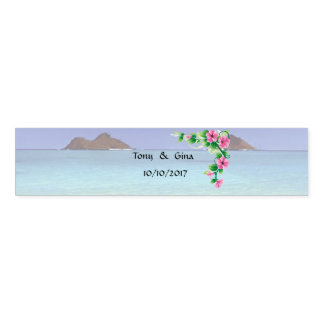 Hawaii Destination Wedding Napkin Bands