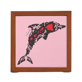 Hawaii Dolphin and Hawaii Islands Desk Organiser