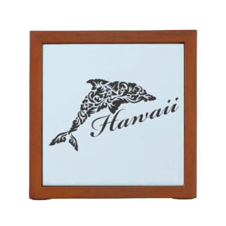 Hawaii Dolphin Desk Organiser