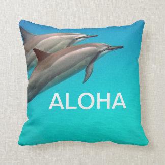 Hawaii Dolphins with Aloha Cushion