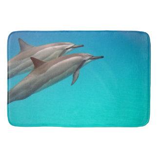 Hawaii dophins bath mat
