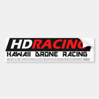 Hawaii Drone Racing Bumper Sticker