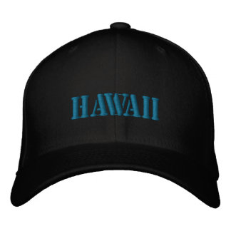 HAWAII EMBROIDERED CAP