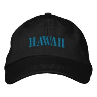 HAWAII EMBROIDERED HAT