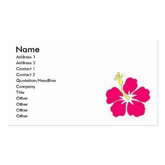 Hawaii Feelings Pack Of Standard Business Cards