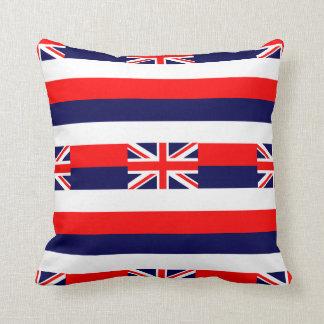 HAWAII FLAG THROW PILLOW