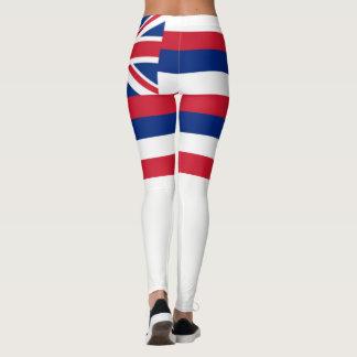 Hawaii flag leggings