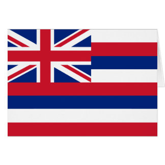 Hawaii Flag Note Card