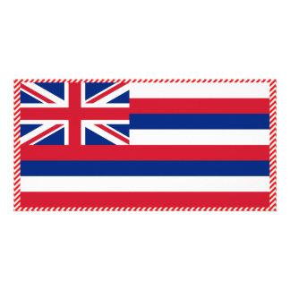 Hawaii Flag Photo Cards