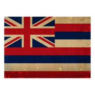 Hawaii Flag VINTAGE.png Business Cards
