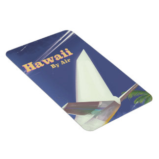 Hawaii Flight vintage vacation print Magnet