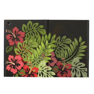 Hawaii Floral Earthy Graphic Design Art Flowers iPad Air Covers