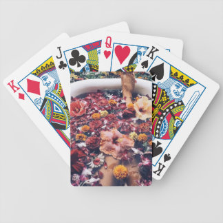HAWAII FLORAL FLOWER BATH BICYCLE PLAYING CARDS