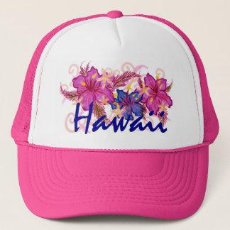 Hawaii flower hat