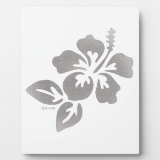 Hawaii Flower Plaque