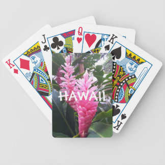 Hawaii Flowers Bicycle Playing Cards