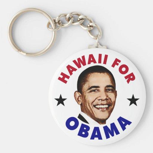 Hawaii For Obama Keychain