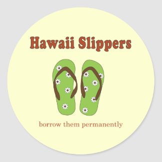 Hawaii Gifts Classic Round Sticker