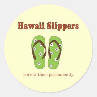 Hawaii Gifts Round Sticker