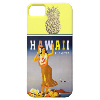 Hawaii Gold Pineapple  Hula Dancer iPhone 5 Case