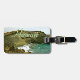 Hawaii Green Sand Beach Baggage I.D. Luggage Tag