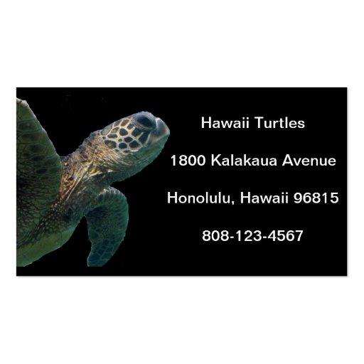 Hawaii Green Sea Turtle Business Cards