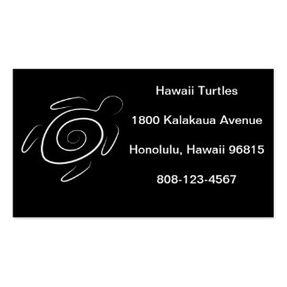 Hawaii Green Sea Turtle Pack Of Standard Business Cards