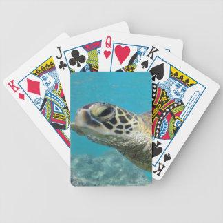 Hawaii Green Sea Turtle Poker Deck