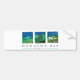 Hawaii Hanauma Bay Bumper Sticker