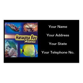 Hawaii Hanauma Bay Nature Preserve Business Cards