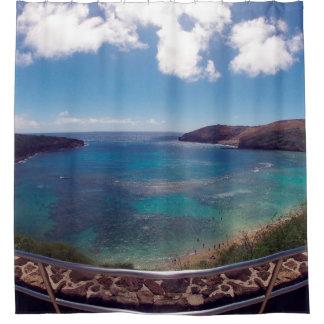 Hawaii Hanauma Bay Nature Preserve Shower Curtain
