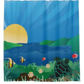 Hawaii Hanauma Bay Shower Curtain