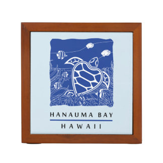 Hawaii Hanauma Bay Turtle Desk Organiser