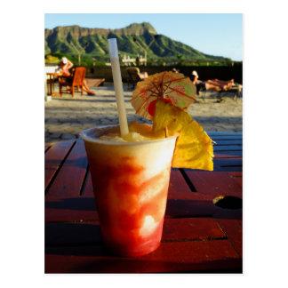 Hawaii Happy Hour Postcard