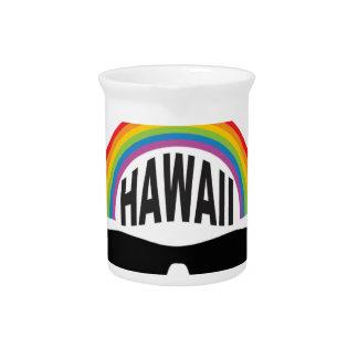 hawaii head art pitcher